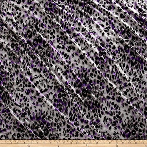 White Jersey Knit Polyester - 9