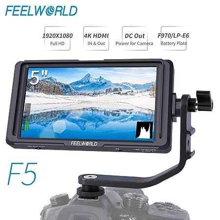 JIANGfu - Monitor de Campo HDMI de 5 Pulgadas para estabilizador ...