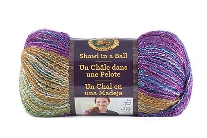 Amazon Lion Brand Yarn 828 302 Shawl In A Ball Prism