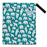 """Wet / Dry Bag for Cloth Diapers or Laundry """"Elephants"""""""
