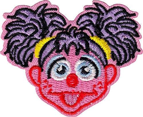 Sesame Street - Abby Cadabby - Embroidered Iron on Patch