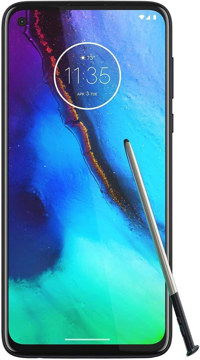 Broonel Black Fine Point Digital Active Stylus Pen Compatible with The/Motorola Moto G8 Power Lite
