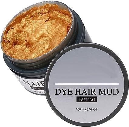 Barro de tinte para el cabello, 100 ml de cera para el ...