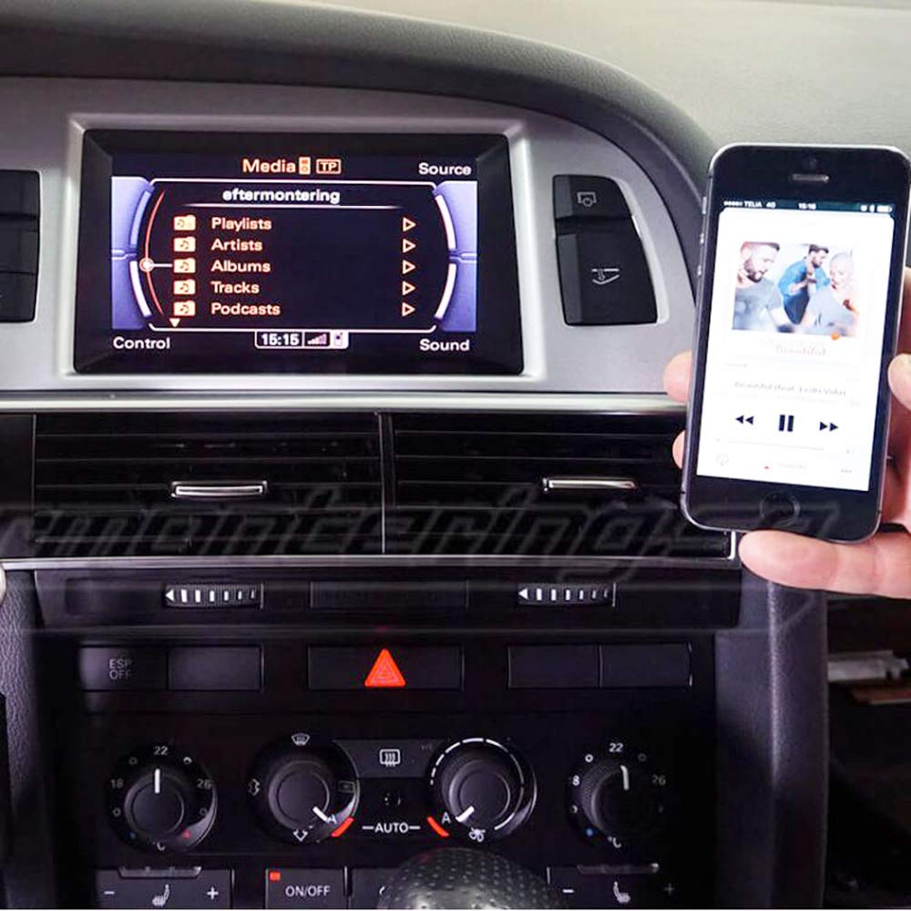 Mercedes CHELINK Bluetooth Car Kit AMI//MDI//MMI Music Interface Adapter for in Car iPod Integration fit for Audi VW
