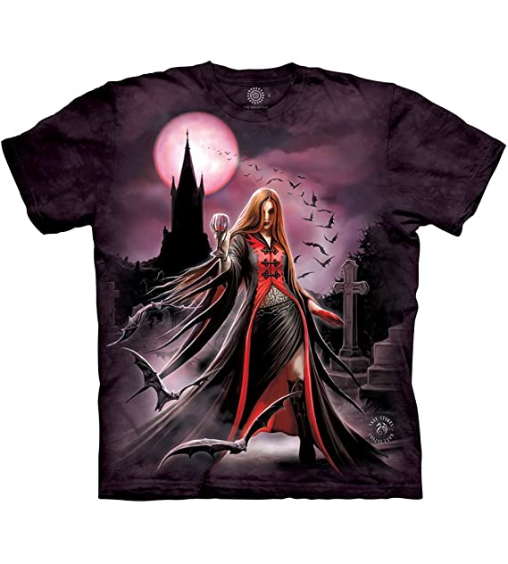 5cd0d8014596 Amazon.com: The Mountain Men's Blood Moon Tee: Clothing