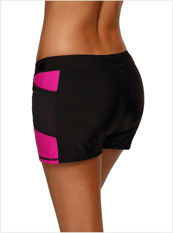 Arctic Cubic Colorblock Low Waist Stretchy Boyshorts Boardshorts Board Shorts Boxer Bottom