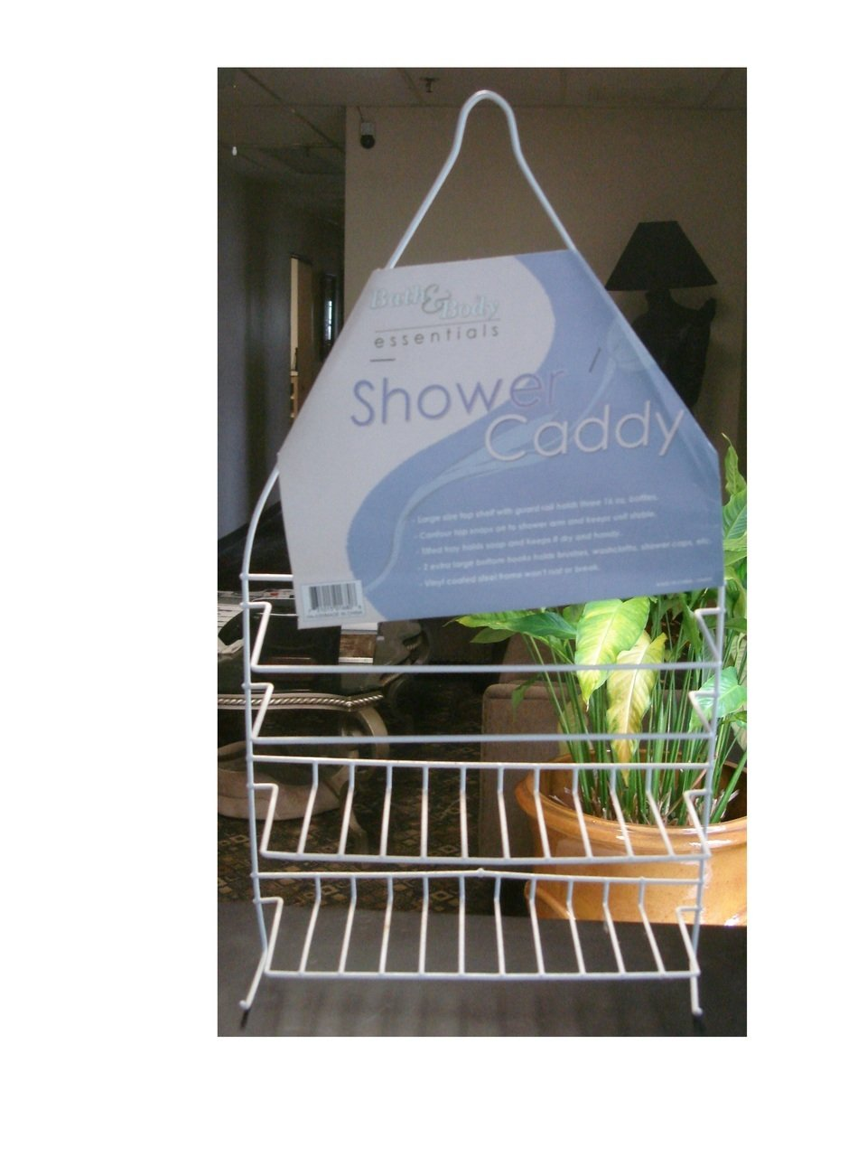Amazon.com: Vinyl Coated Wire Shower Caddy: Home & Kitchen