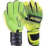 Rinat Unisex's Kancerbero Quantum Pro Goalkeeper Glove, Neon Yellow/Neon Green, 9