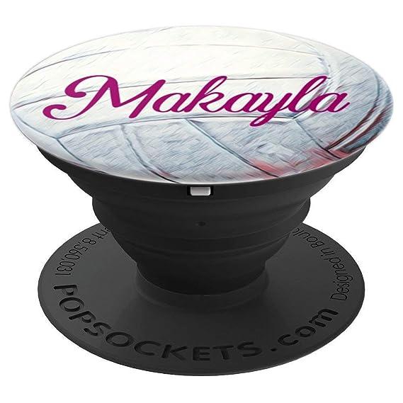 Amazon com: Makayla Volleyball Sports Pattern with Girl's