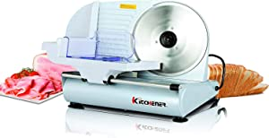 Food Slicer Electric Meat Deli Cheese Bread 9