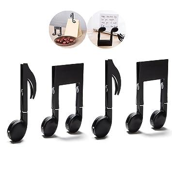 Famhome Clips - Clips decorativos para libros, soporte de página para profesor, música,