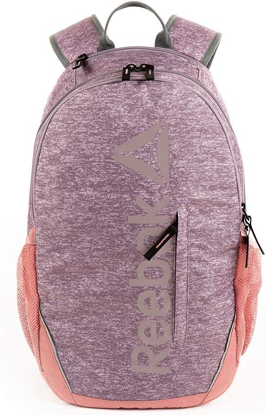 Reebok Trainer Gym Backpack for Women, Sports Backpack with Laptop Slot