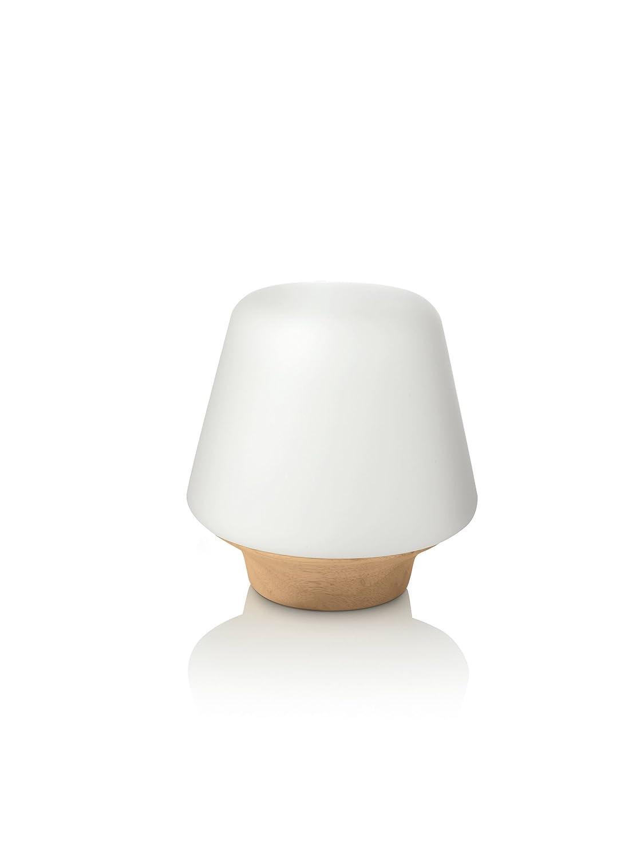 Poser Lampe Philips Wellness Verre Bois En À fg76vYyb
