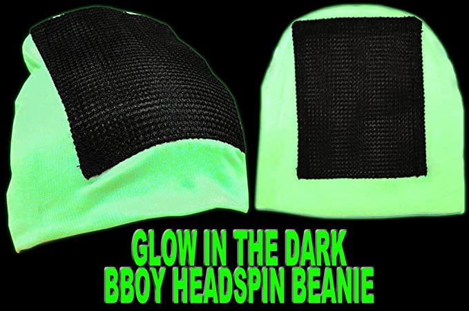 3e89cad6840 Headspin Break Dance Hat - Glows In The Dark And Under Blacklight   Amazon.co.uk  Kitchen   Home