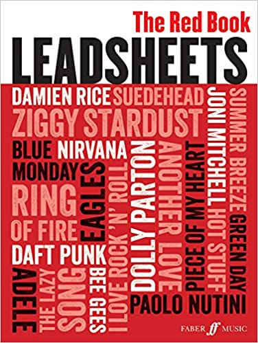 Lead Sheets Red Book Melody Chords And Lyrics Amazon