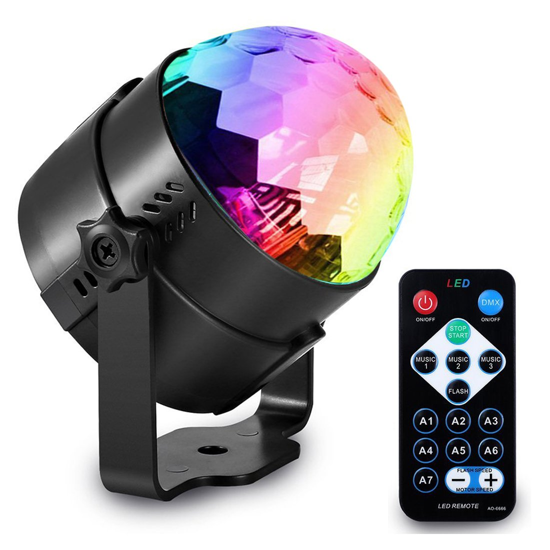 Amazoncom Delightime Party Lights  LED Strobe Light with Remote Control   Suitable for DJ Disco Stage Birthday Dancing Wedding and Kids  Lighting