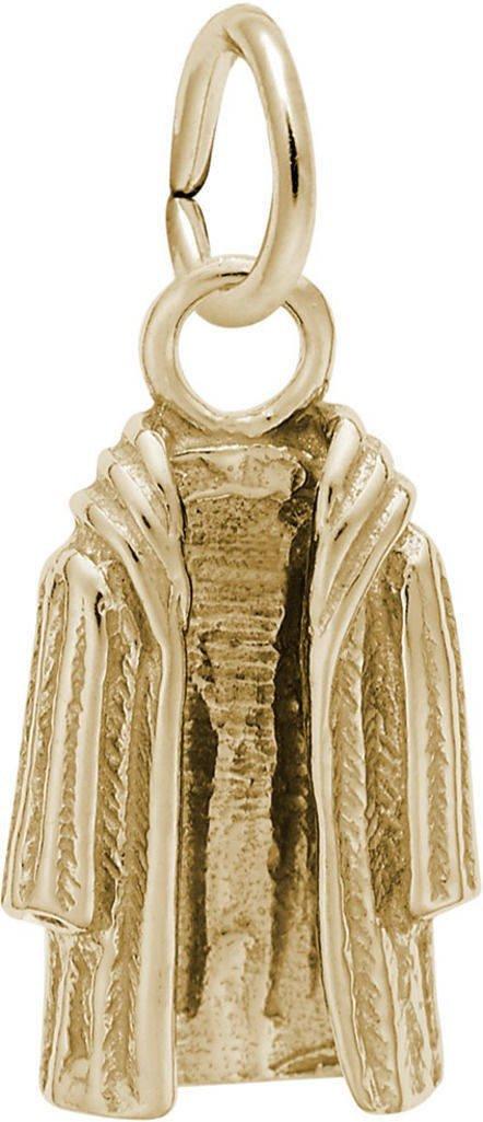 Rembrandt Fur Coat Charm - Metal - 14K Yellow Gold