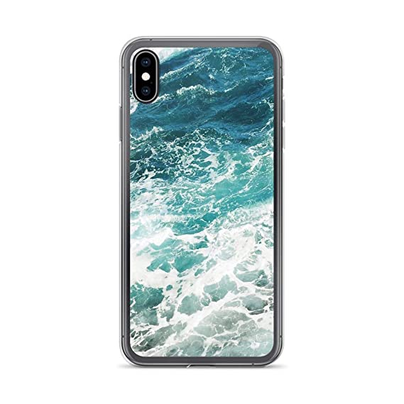 Amazon Com Iphone Xr Pure Clear Case Cases Cover Blue Ocean