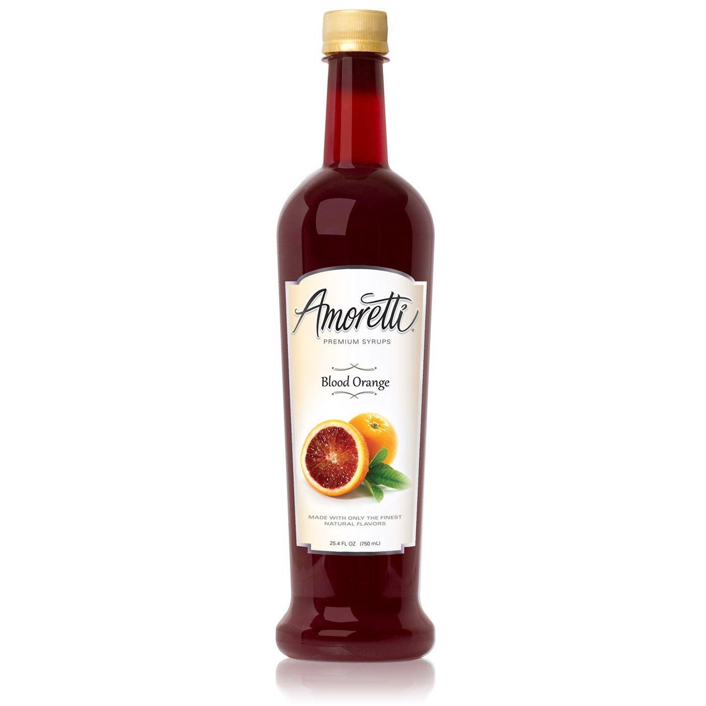 Amoretti Premium Syrup, Blood Orange, 25.4 Ounce