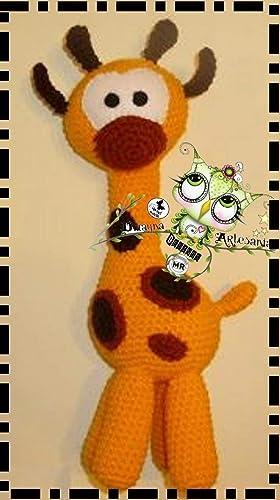 Crochet patrones jirafa jirafa ganchillo patrón por VenelopaTOYS ...   500x280