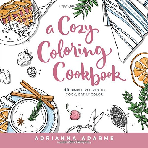 Cozy Coloring Cookbook Simple Recipes product image