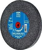PFERD 61769 Bench Grinding Wheel, Aluminum Oxide, 10'' Diameter, 1'' Thick, 1-1/4'' Arbor Hole, 36 Grit, 2485 Maximum rpm