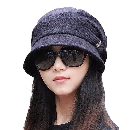 doublebulls hats - Gorro de pescador - para mujer azul azul oscuro Talla única