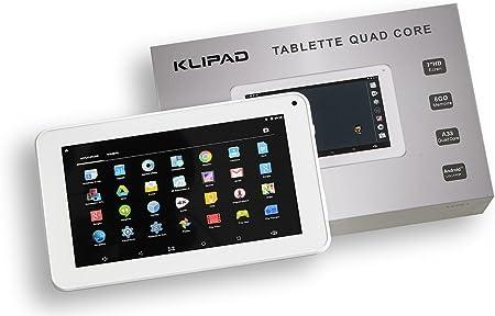 Klipad - Tablet táctil HD Android 5.1/8 GB, 7
