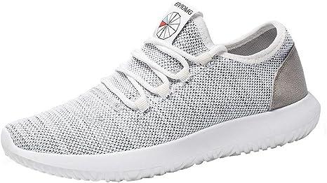 MISSWongg _Zapatos para Hombre Ocasionales Respirables Perezosos ...