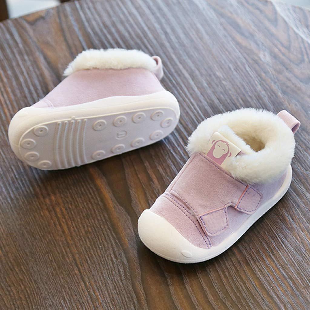XNBZW Chaussures Premiers Pas en Enfants Toddler Boys Girls Fashion Sneakers