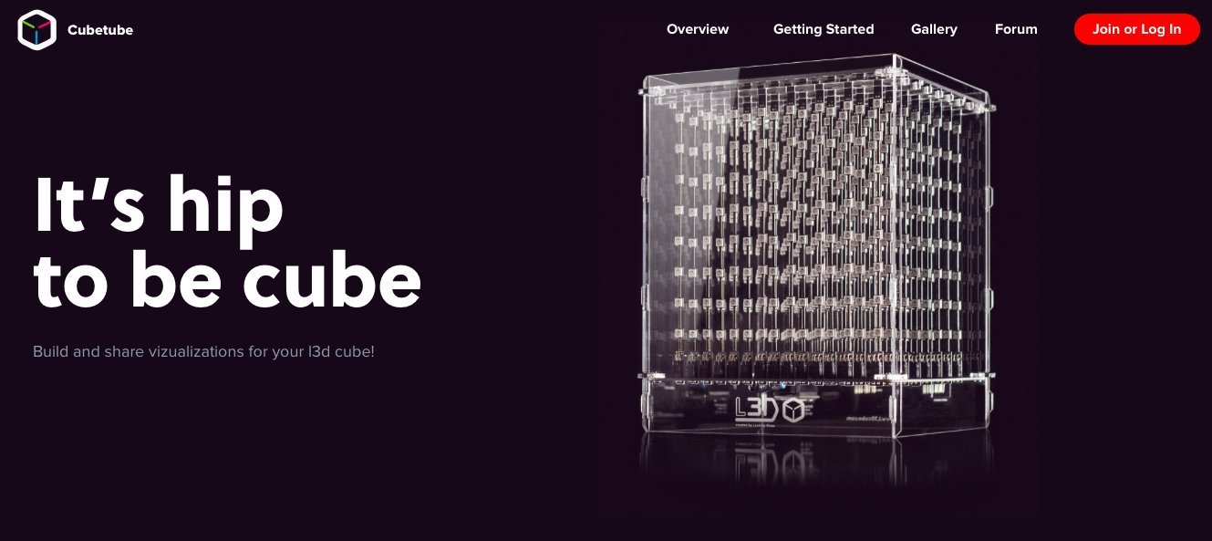 L3D Cube: The Devastatingly Beautiful 3D LED Cube from the ...
