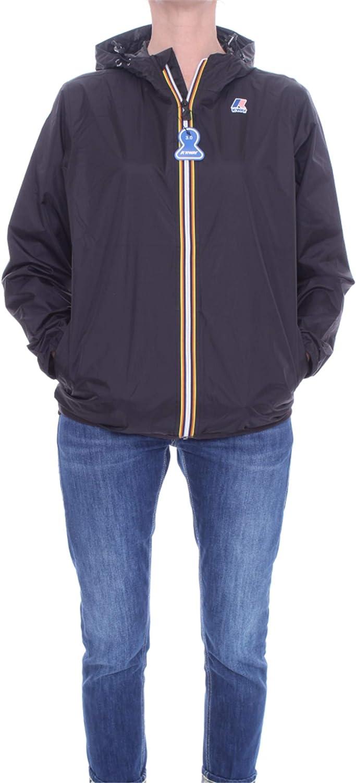 K-way Full Zip Claude Rainproof Jacket Navy