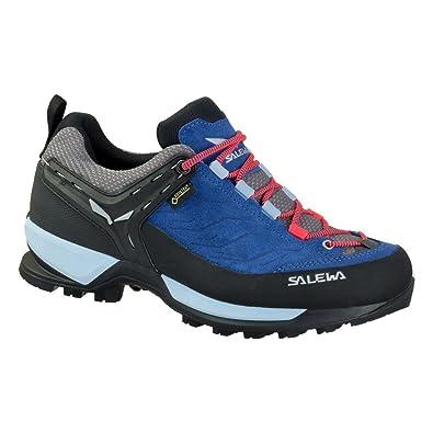 Salewa Mountain Trainer Gtx® Blau, Damen Gore-Tex® EU 42 - Farbe Dark Denim-Papavero Damen Gore-Tex® Dark Denim - Papavero, Größe 42 - Blau