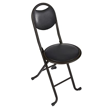 Folding Chair U2013 Padded Foldable Chair U2013 Stainless Steel Folding Stool Chair  With Cushioned Seat,