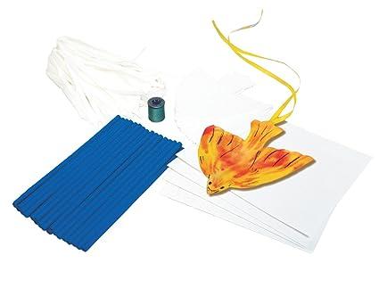 Amazon Roylco Bird Kite Craft Kit 6 X 7 In Pack Of 32 Toys