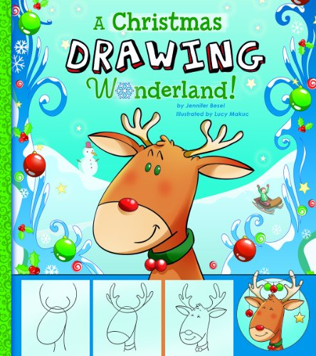 A Christmas Drawing Wonderland Holiday Sketchbook