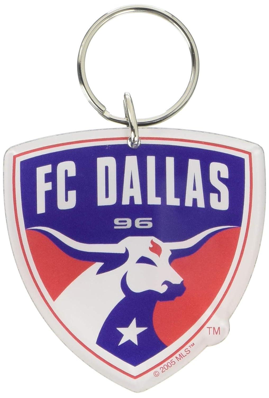 WinCraft Soccer 22846051 FC Dallas Premium Acrylic Key Ring