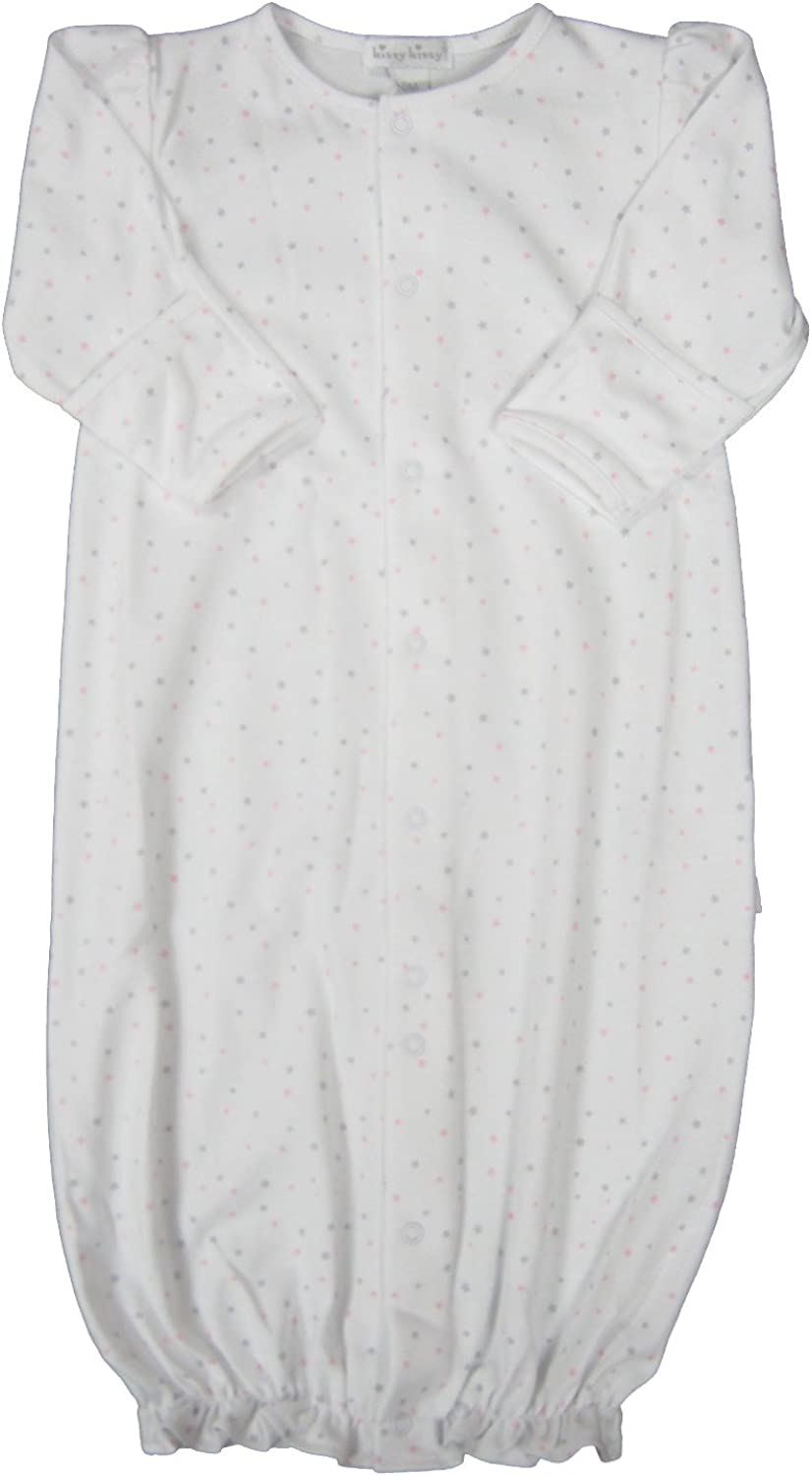 Kissy Kissy Baby-Girls Infant Sweetest Dreams Convertible Gown