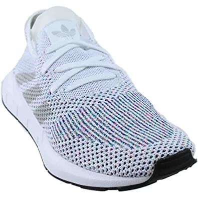 ae3c9ba9fa19 adidas Swift Run Primeknit White Grey Black Mens Style  CG4126-Wht Grey
