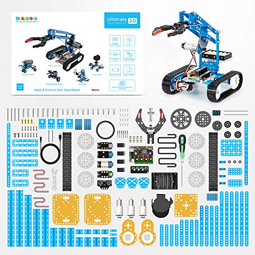 Makeblock DIY Ultimate Robot Kit - Premium Quality - 10-in-1 Robot - STEM Education - Arduino - Scratch 2.0 - Programmable Robot Kit for Kids to Learn Coding, Robotics and Electronics by Makeblock (Image #7)