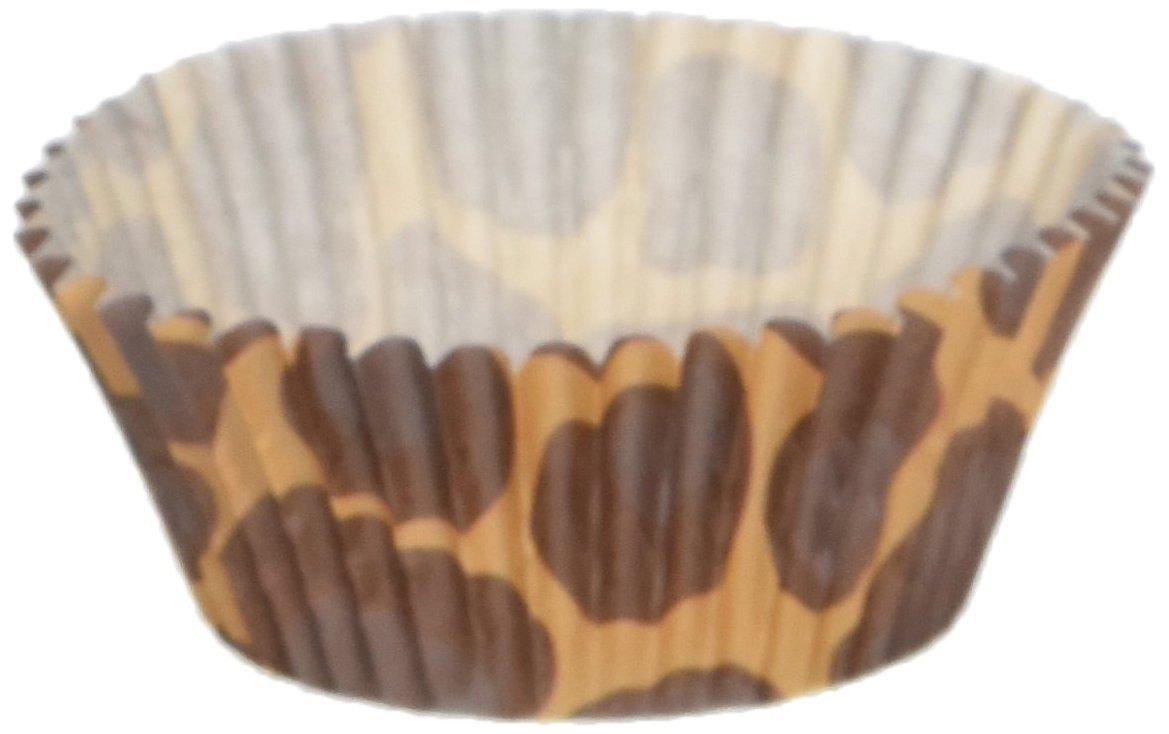 Fox Run Brands 7018 50 Count Leopard Bake Cups