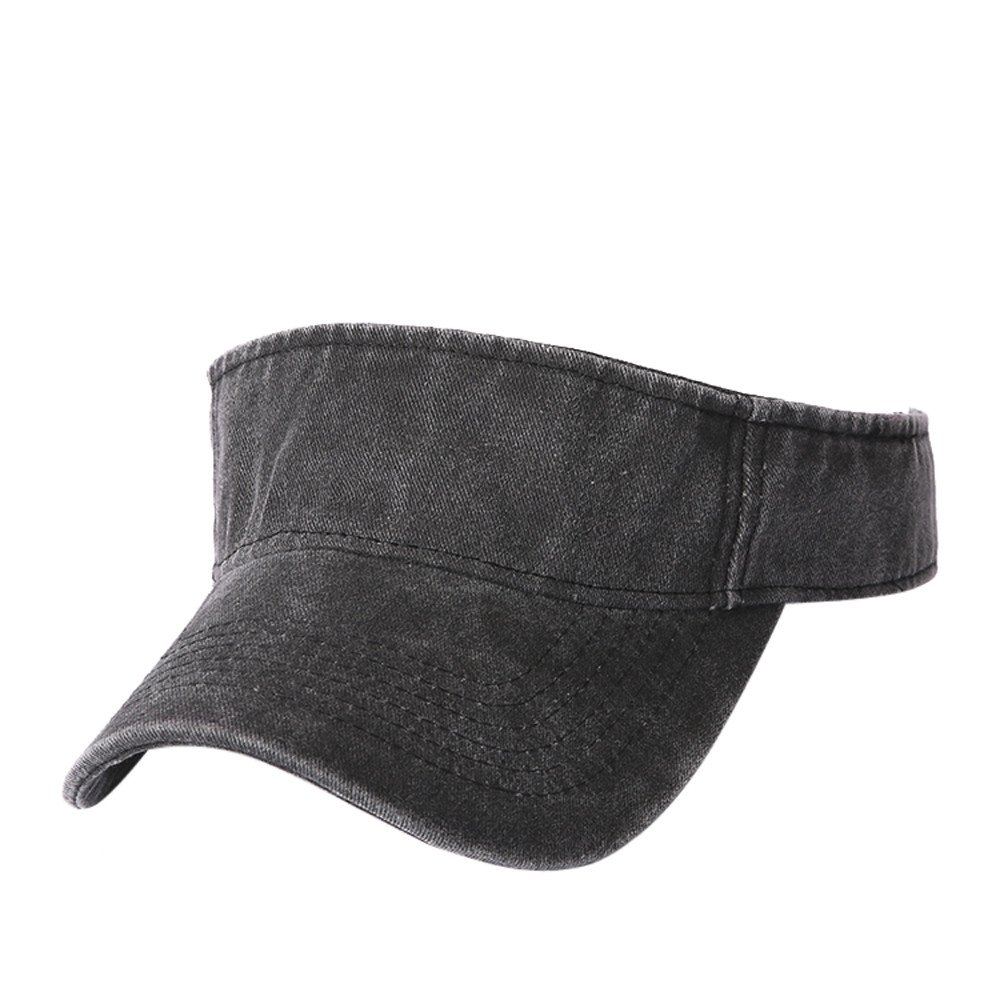 CSSD Unisex Summer Clearance Sport Baseball Caps Snapback Hip Hop Flat Hat Snapback Hat Sun Visor Caps (Black)