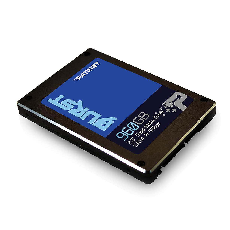 Patriot Burst SSD 960GB SATA III Internal Solid State Drive 2.5'' - PBU960GS25SSDR by Patriot (Image #2)