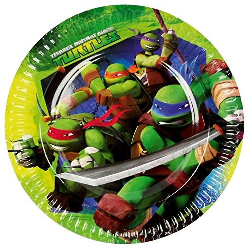 Teenage Mutant Ninja Turtle Party Plates 6 7/8