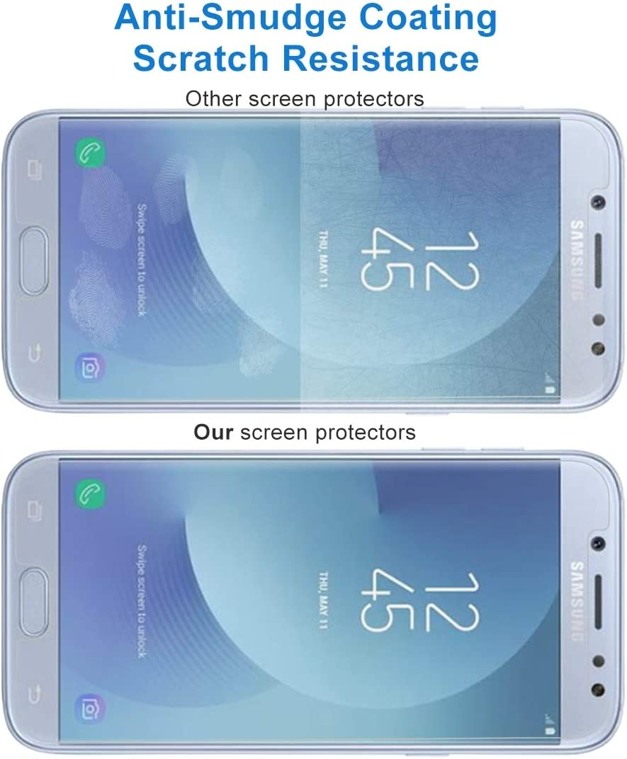0.26mm 9H Surface Hardness 2.5D Explosion-Proof Non-Full Screen Tempered Glass Screen Film Used for Your Phone 2017 EU Version Leya Screen Protector 100 PCS for Galaxy J5