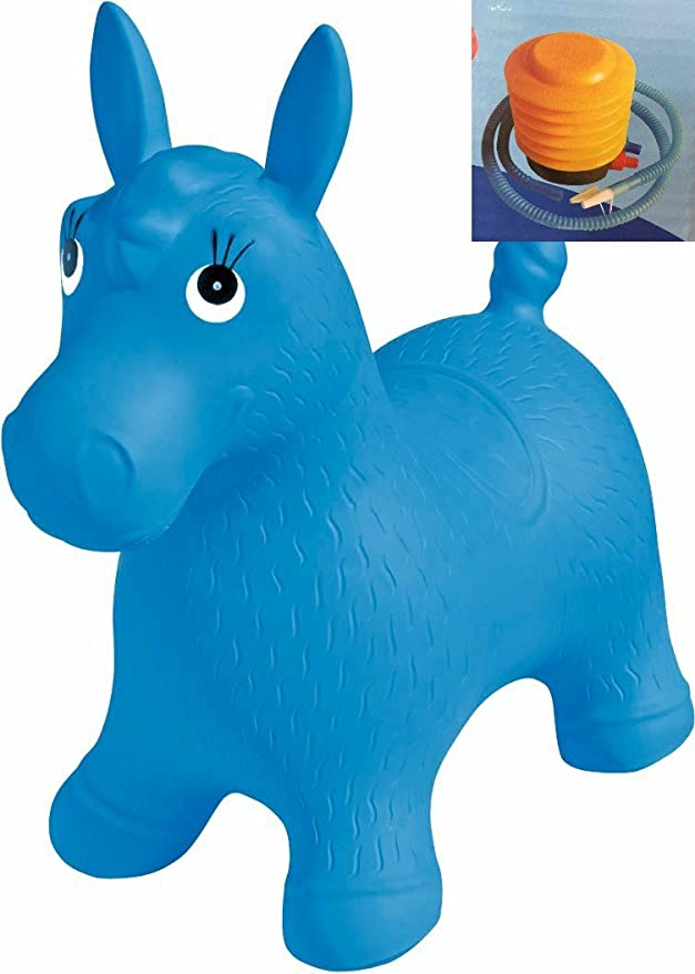 SGM Jumping Red Horse inflatable animal for children 12-36 months