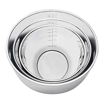 MIU France Stainless Steel Mixing Bowls