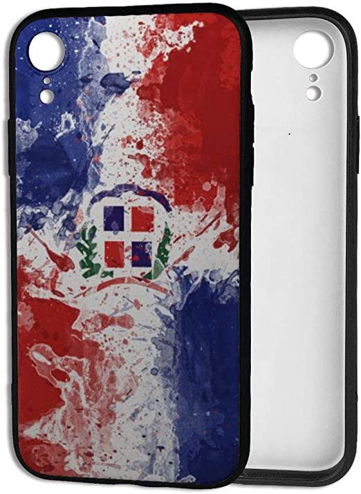Amazon.com: Dominican Republic Flag Case for iPhone XR,Thin Soft ...