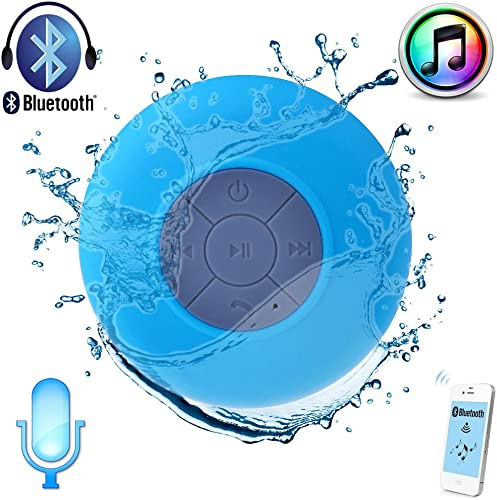 OJOBOX Mini Ultra Portable Waterproof Bluetooth Wireless Shower Speakers Handsfree'speakerphone