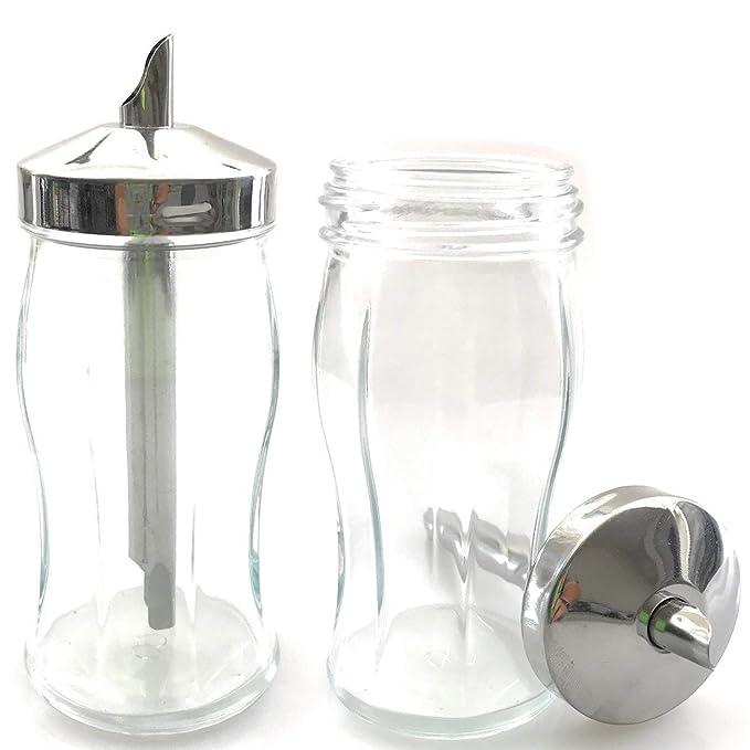 Kerafactum - Juego de 2 azucareros pequeños con Tapa de ...